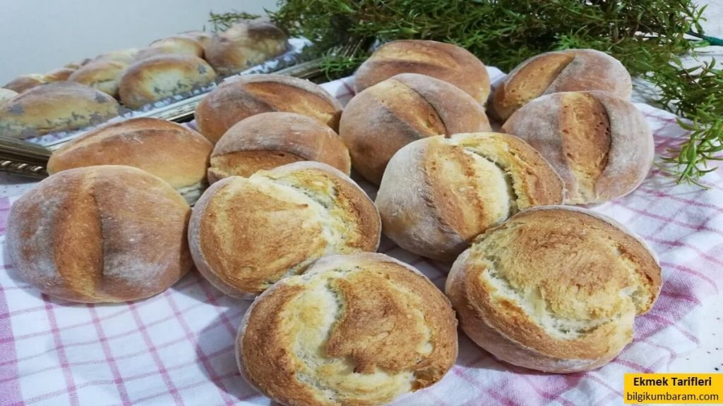Brötchen Alman Ekmeği Tarifi Yapılışı