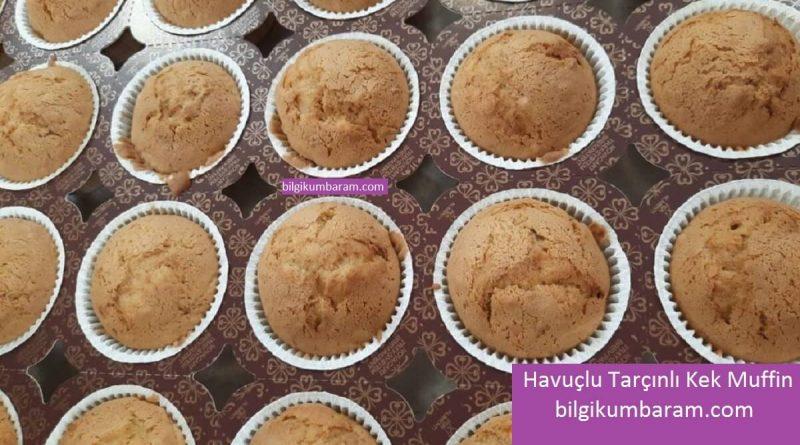 Havuçlu Tarçınlı Kek Muffin