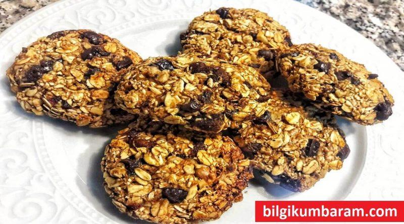 Yulaflı kurabiye yapılışı